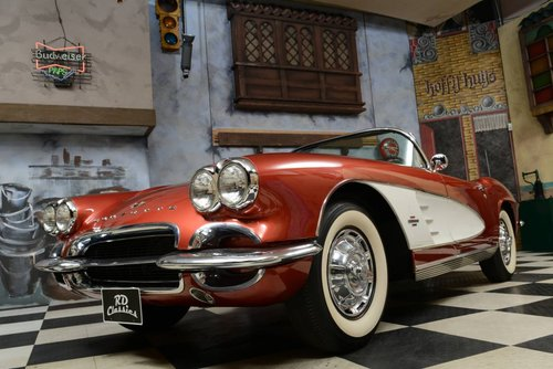 1961 Chevrolet Corvette C1 Convertible / Vollrestauration! For Sale (picture 1 of 6)