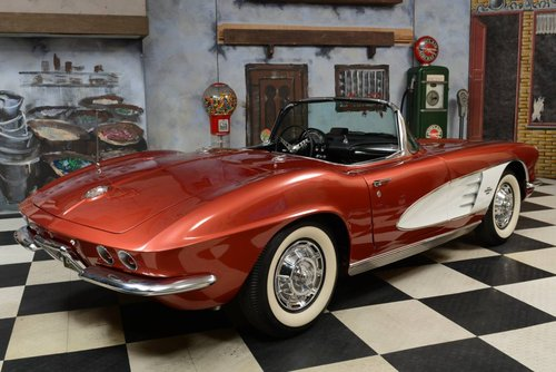 1961 Chevrolet Corvette C1 Convertible / Vollrestauration! For Sale (picture 2 of 6)