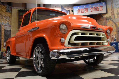 1957 Chevrolet 3100 Pickup Truck *V8*Automatik* For Sale (picture 2 of 6)
