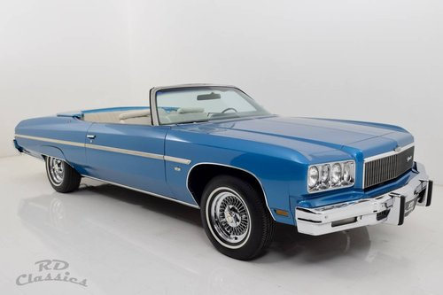 1975 Chevrolet Caprice Classic Convertible For Sale (picture 1 of 6)