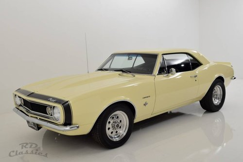 1967 Chevrolet Camaro Hardtop Coupe / Voll Restauriert! For Sale (picture 3 of 6)