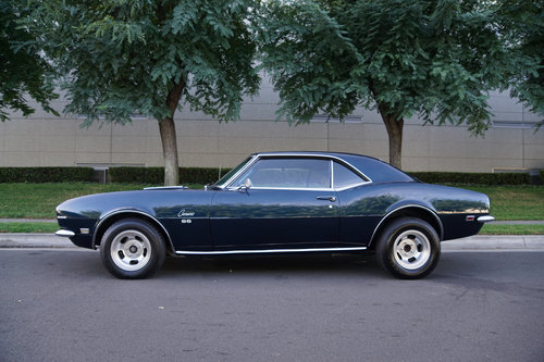 1968 Camaro SS396/350HP V8 4 spd  SOLD (picture 2 of 6)