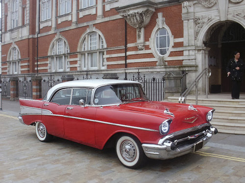 1957 Classic Wedding Cars Wales For Hire (picture 1 of 4)