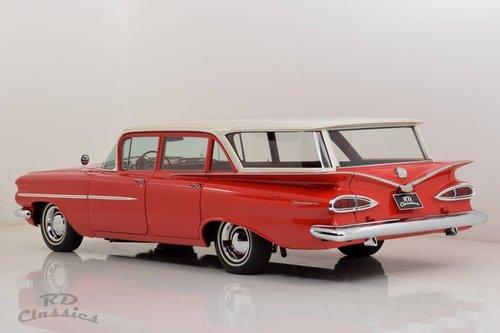 1959 Chevrolet Biscayne Brookwood Wagon *V8* For Sale (picture 1 of 6)