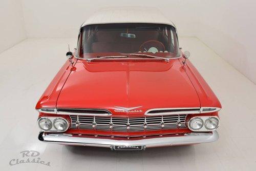 1959 Chevrolet Biscayne Brookwood Wagon *V8* For Sale (picture 2 of 6)