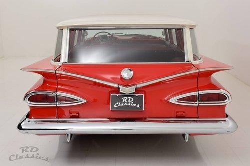 1959 Chevrolet Biscayne Brookwood Wagon *V8* For Sale (picture 3 of 6)