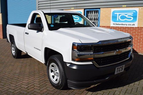 2016 UK Reg'd Chevrolet Silverado 1500 LWB 4.3i V6 285 Auto SOLD (picture 1 of 6)