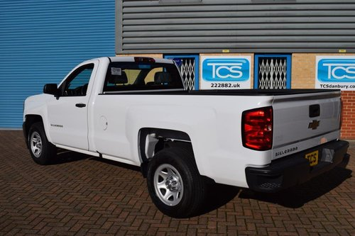 2016 UK Reg'd Chevrolet Silverado 1500 LWB 4.3i V6 285 Auto SOLD (picture 2 of 6)