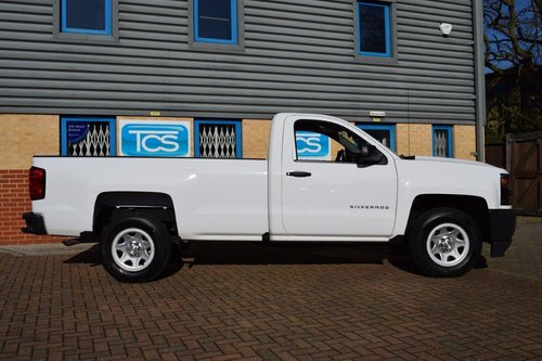 2016 UK Reg'd Chevrolet Silverado 1500 LWB 4.3i V6 285 Auto SOLD (picture 3 of 6)