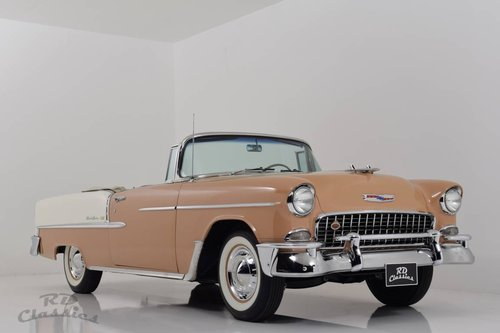 1955 Chevrolet Bel Air Cabrio Frame-Off Restauration! For Sale (picture 1 of 6)