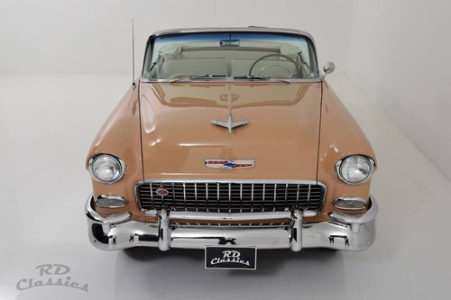 1955 Chevrolet Bel Air Cabrio Frame-Off Restauration! For Sale (picture 2 of 6)