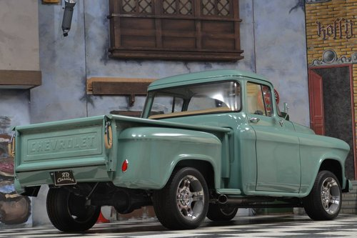 1955 Chevrolet 3100 Pick up Truck Frame Off Restoration For Sale (picture 2 of 6)