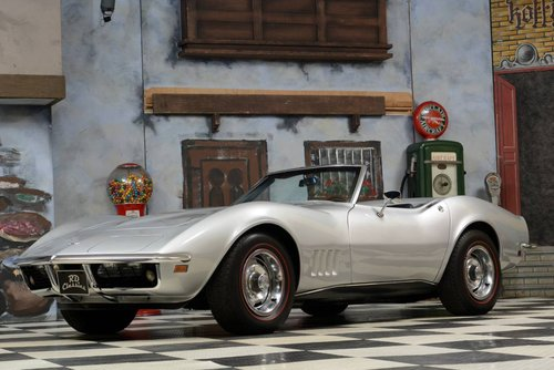 1968 Chevrolet Corvette C3 Cabrio Matching Numbers / Top Zu For Sale (picture 1 of 6)