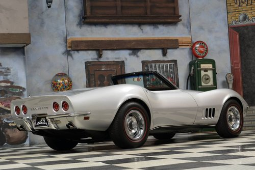 1968 Chevrolet Corvette C3 Cabrio Matching Numbers / Top Zu For Sale (picture 2 of 6)