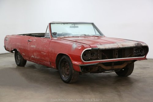 1964 Chevrolet Malibu SS Convertible For Sale (picture 1 of 6)