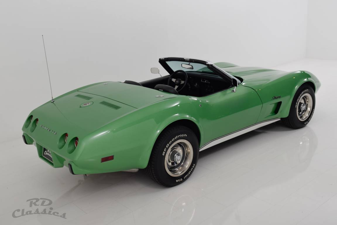 1975 Chevrolet Corvette C3 Convertible - Matching Numbers! For Sale (picture 3 of 6)