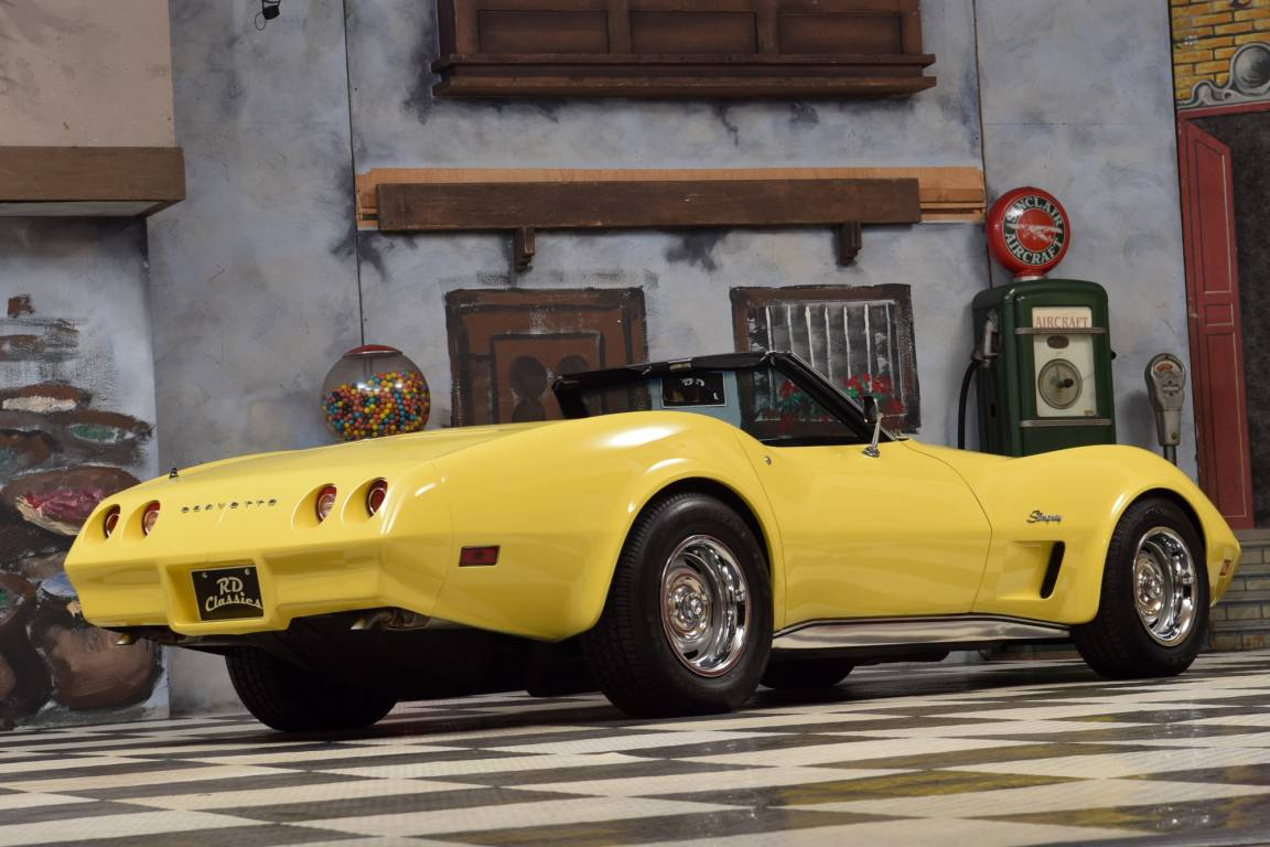 1974 Chevrolet Corvette C3 Convertible Matching Numbers  For Sale (picture 2 of 6)