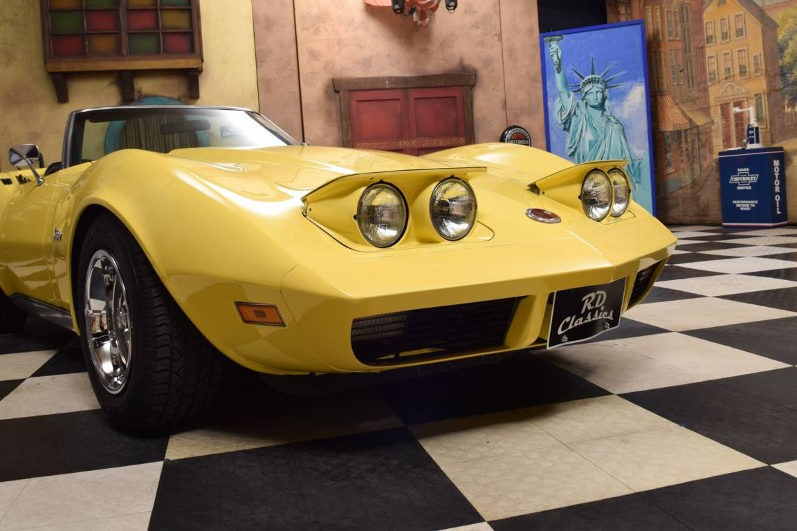 1974 Chevrolet Corvette C3 Convertible Matching Numbers  For Sale (picture 3 of 6)