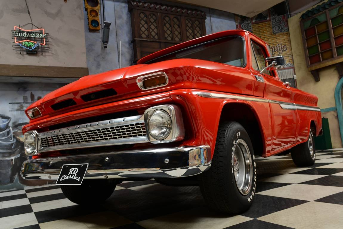 1965 Chevrolet C10 Pickup Truck / Top Zustand! For Sale (picture 1 of 6)
