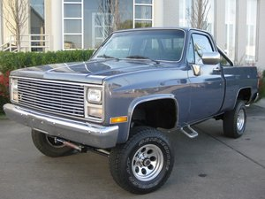1986 Chevy k10 For Sale