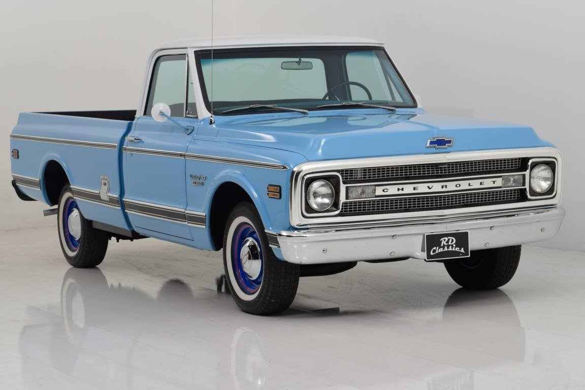 1969 Chevrolet C10 Pickup Truck For Sale (picture 1 of 6)