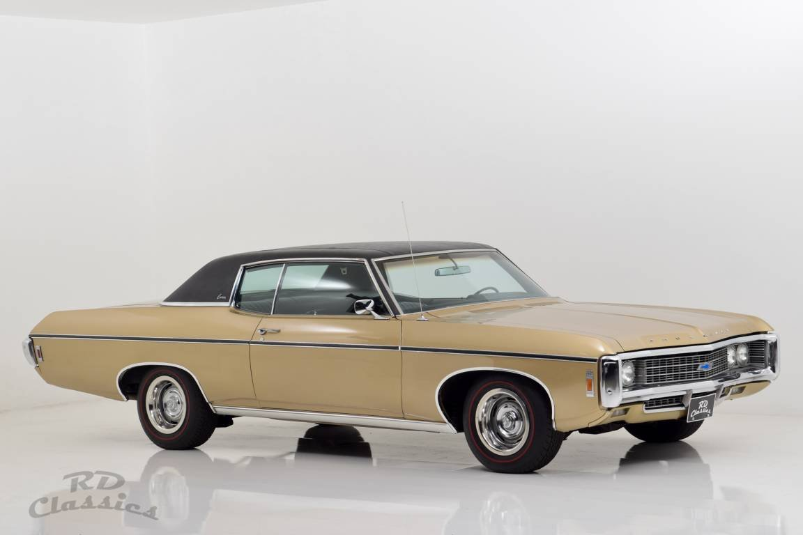 1969 Chevrolet Caprice 2D Hardtop Coupe 6.6 Liter Big Block For Sale (picture 1 of 6)