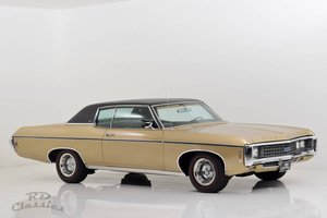 1969 Chevrolet Caprice 2D Hardtop Coupe 6.6 Liter Big Block For Sale