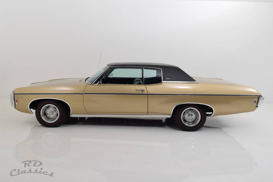 1969 Chevrolet Caprice 2D Hardtop Coupe 6.6 Liter Big Block For Sale (picture 3 of 6)
