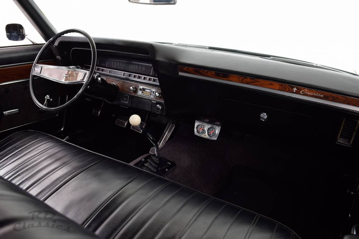 1969 Chevrolet Caprice 2D Hardtop Coupe 6.6 Liter Big Block For Sale (picture 5 of 6)