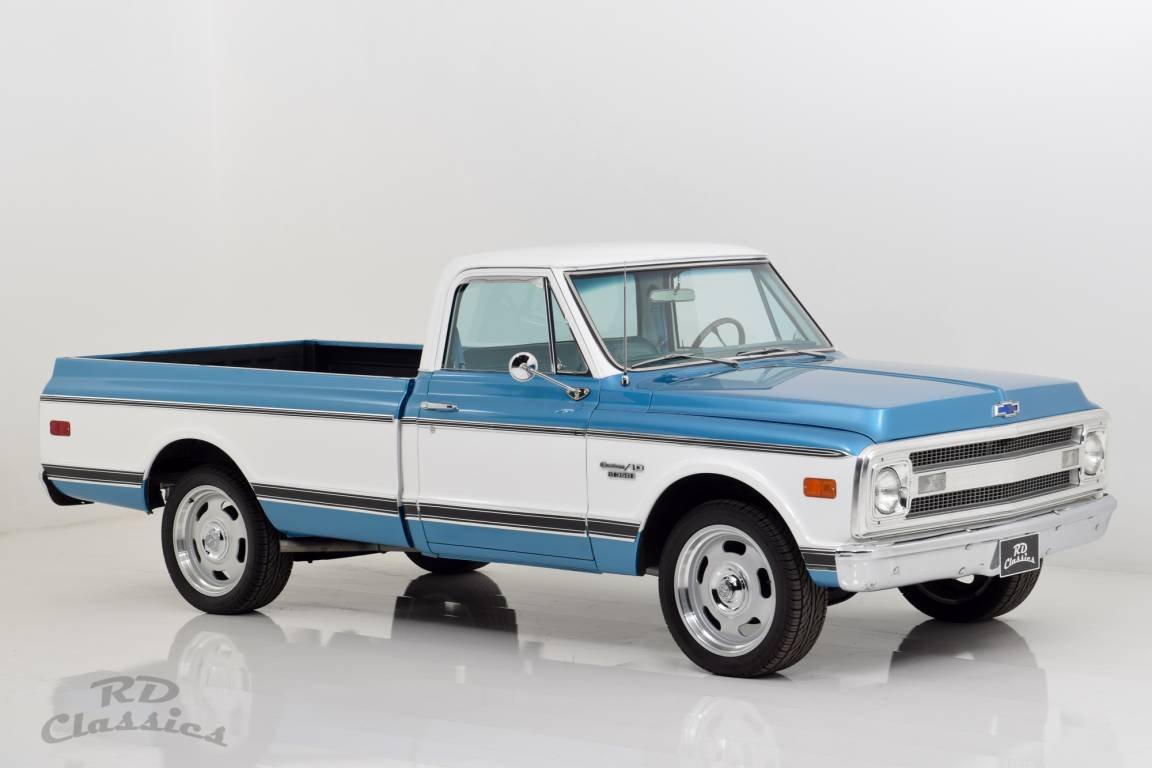 1969 Chevrolet C10 V8 Longbed Pick Up Truck For Sale (picture 2 of 6)