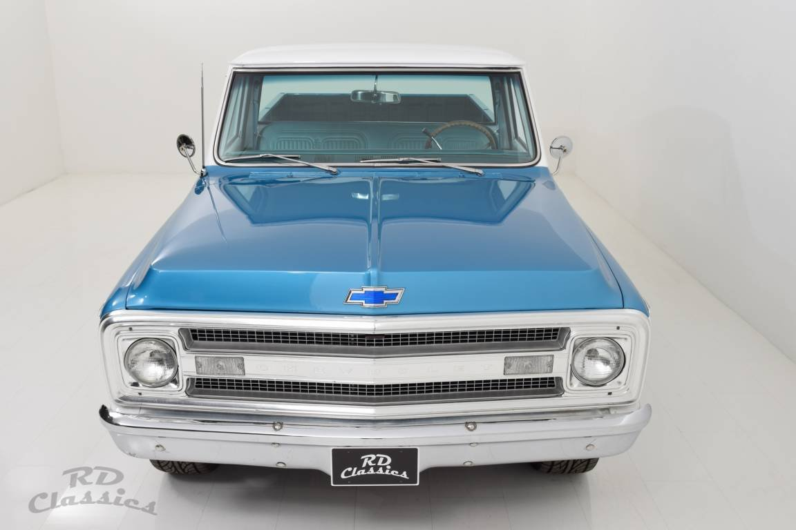 1969 Chevrolet C10 V8 Longbed Pick Up Truck For Sale (picture 3 of 6)