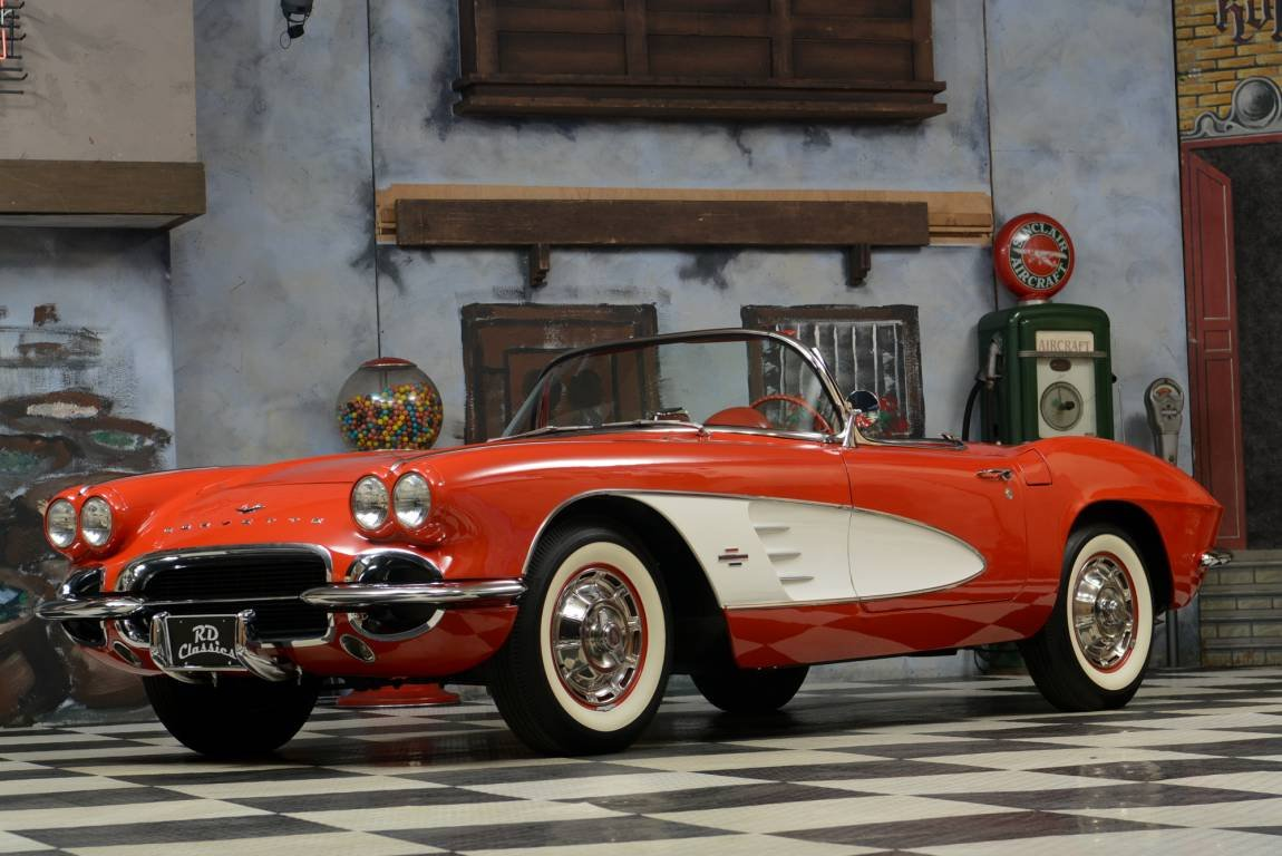 1961 Chevrolet Corvette C1 C1 Matching Numbers / Voll Body  For Sale (picture 1 of 6)