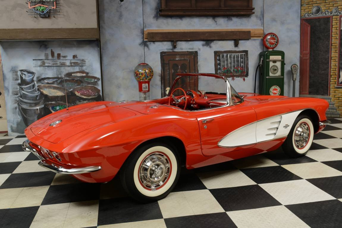 1961 Chevrolet Corvette C1 C1 Matching Numbers / Voll Body  For Sale (picture 2 of 6)