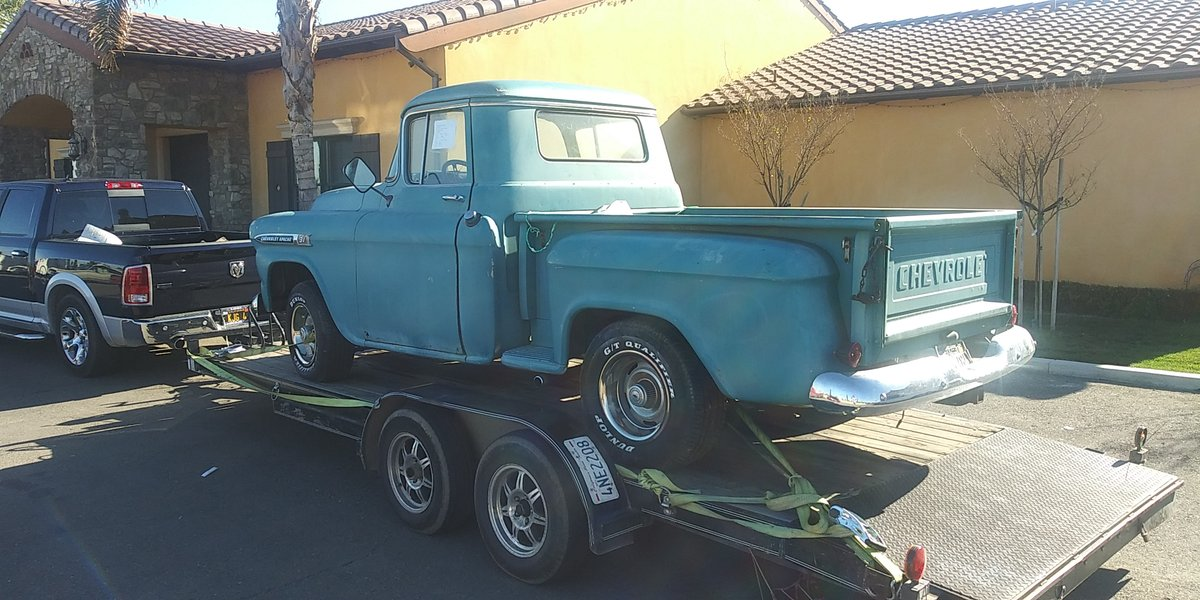 1959 chevy apache pickup SOLD (picture 4 of 6)