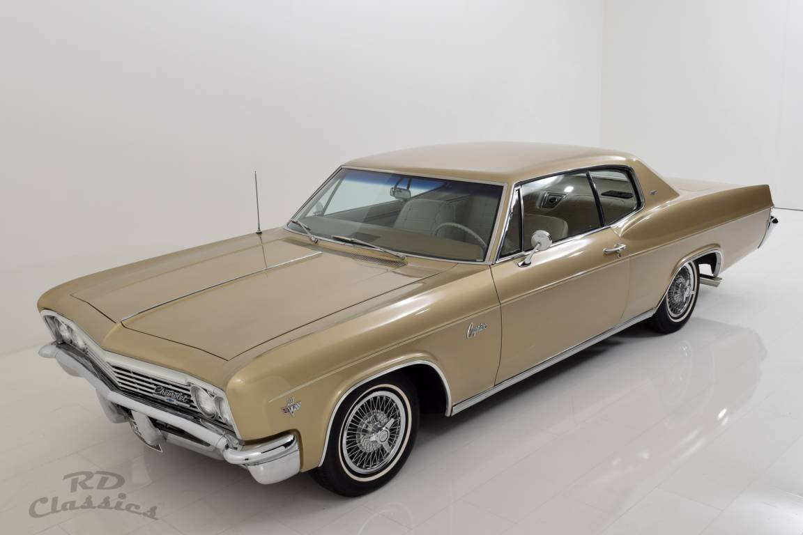 1966 Chevrolet Caprice 2D Hardtop Coupe For Sale (picture 1 of 6)