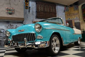 1955 Chevrolet Bel Air Convertible *Disc Brakes* For Sale