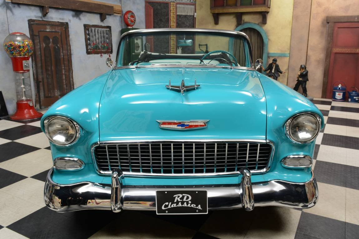 1955 Chevrolet Bel Air Convertible *Disc Brakes* For Sale (picture 2 of 6)