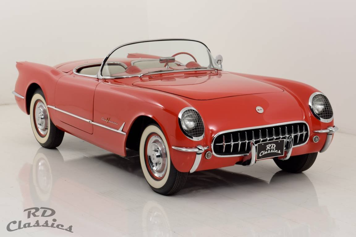 1955 Chevrolet Corvette C1 Top Zustand / Frame Off Restauri For Sale (picture 1 of 6)
