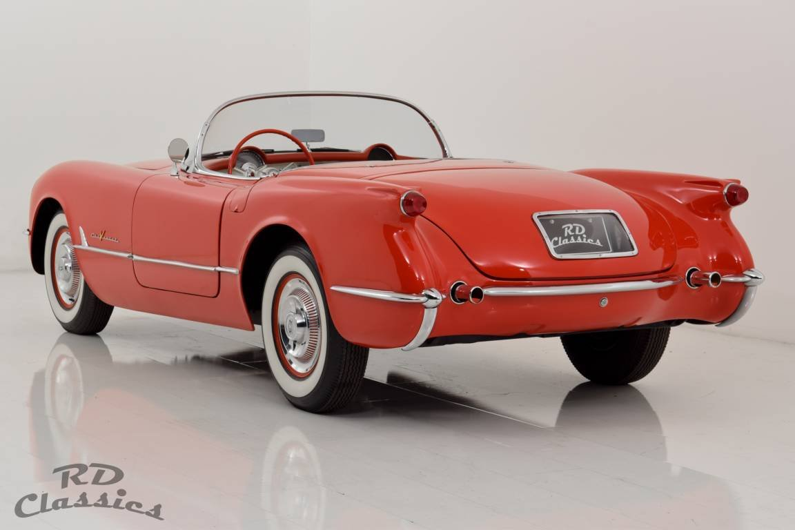 1955 Chevrolet Corvette C1 Top Zustand / Frame Off Restauri For Sale (picture 3 of 6)