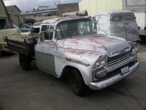 1959 CHEVY 3200 STEPSIDE BED FITTED  ON THE BUTTON, UK REG
