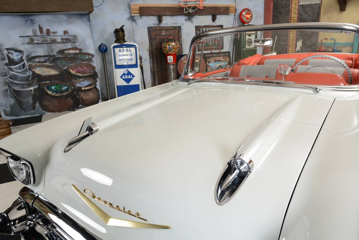 1957 Chevrolet Bel Air Convertible / Vollrestauration! For Sale (picture 5 of 6)