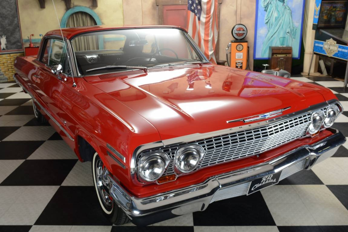 1963 Chevrolet Impala 2dr Sport Coupe For Sale (picture 1 of 6)