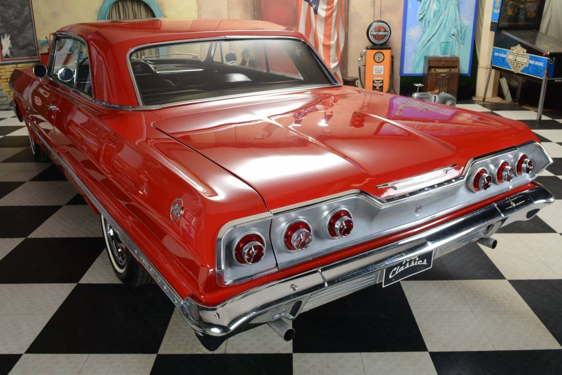 1963 Chevrolet Impala 2dr Sport Coupe For Sale (picture 3 of 6)