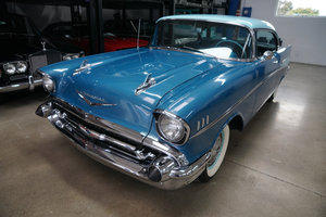 Orig CA 1957 Chevrolet 210 283 V8 2 Dr Hardtop Sports Coupe SOLD