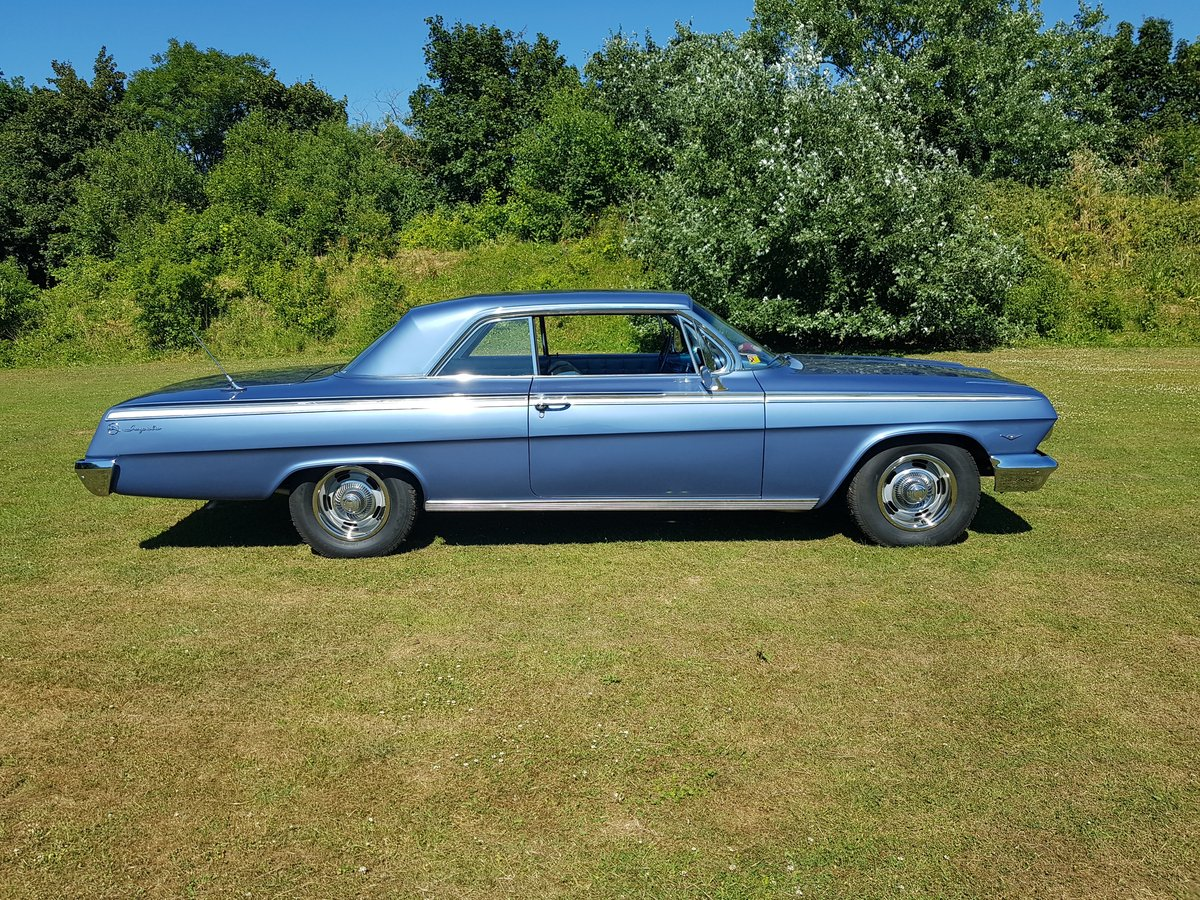 1962 Chevrolet Impala 327 V8 and Automatic SOLD (picture 1 of 6)