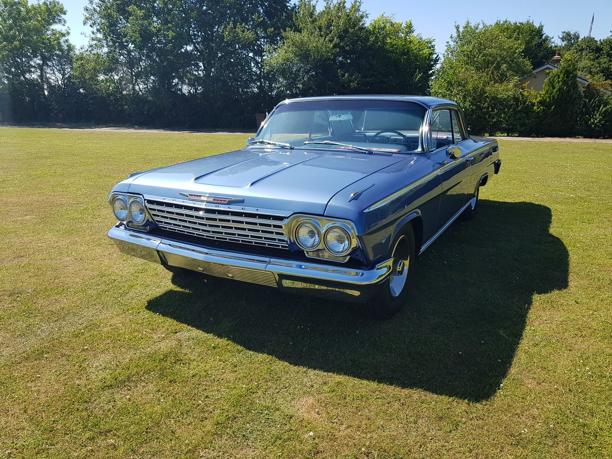 1962 Chevrolet Impala 327 V8 and Automatic SOLD (picture 3 of 6)