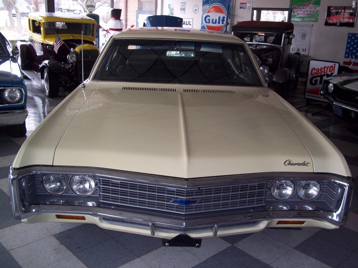 1969 Chevrolet Bel Air Big Block 2 Door Sedan For Sale (picture 3 of 6)