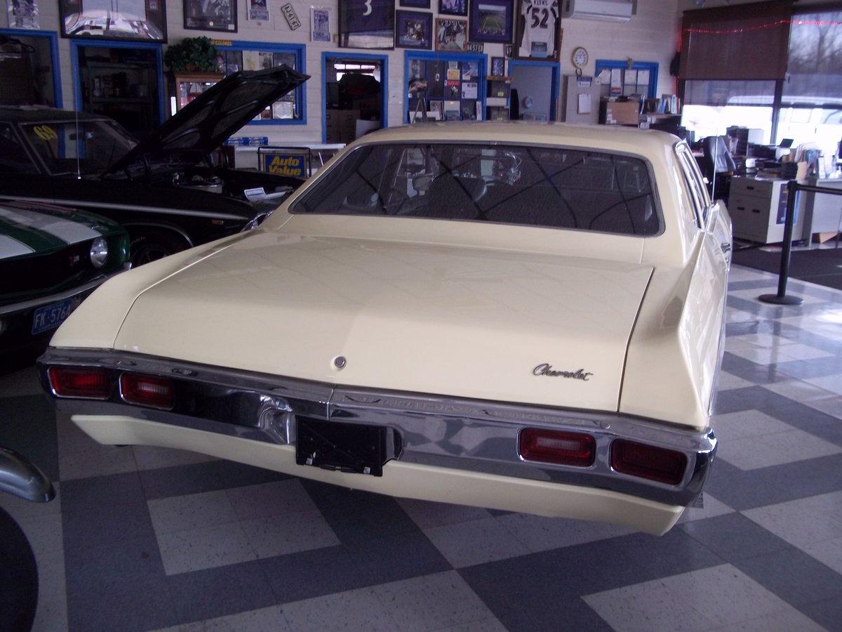 1969 Chevrolet Bel Air Big Block 2 Door Sedan For Sale (picture 5 of 6)