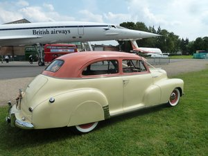 Stunning 1947 Chevrolet Stylemaster for hire