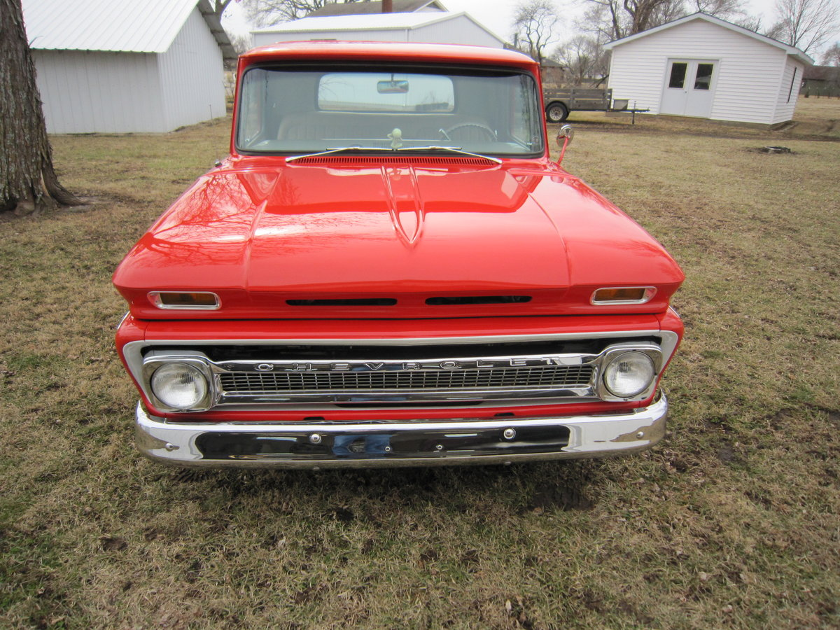 Rare 1966 Chevrolet Short Bed LS1 Fuelie For Sale (picture 2 of 6)
